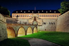 Thüringen Thuringia Erfurt Petersberg citadel, German city