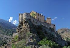 Zitadelle von Corte, Korsika Stockfoto