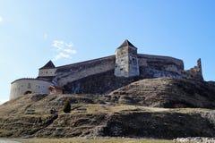 Zitadelle von Rasnov stockfoto