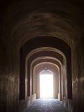 Zitadellen-Schlossdurchgang Rayen-luftgetrockneten Ziegelsteines Stockbilder