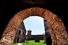 Zitadelleneingang Stockbild