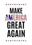 Zitat eines amerikanischen Präsidenten während der Wahlen Stockfotos