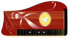Zither Royalty Free Stock Photography