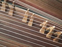 Zither,Gu Zheng Stock Images