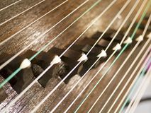 Zither,Gu Zheng Stock Photo
