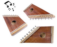 Zithers angle compilation Stock Image