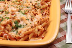 Ziti delicious pasta Stock Photos