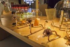 Zitieren Sie sinnliche Ausstellungen du Vin Lizenzfreie Stockfotos