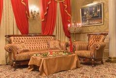 Zitkamer Royalty-vrije Stock Foto's