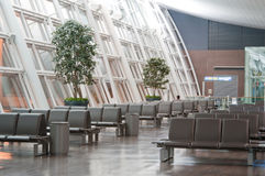 Zitkamer in de Luchthaven royalty-vrije stock foto's