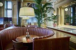 Zitkamer in hotel Royalty-vrije Stock Afbeelding
