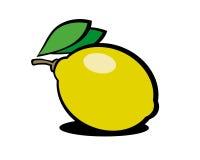 Zitrone Vektor Abbildung