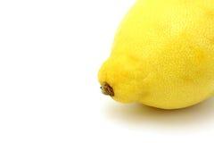 Zitrone in einer Ecke Lizenzfreies Stockfoto