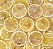 Zitrone geschnitten Lizenzfreie Stockbilder