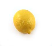 Zitrone getrennt Stockfotografie