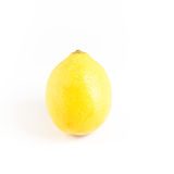 Zitrone getrennt auf weißem Hintergrund Mit Beschneidungspfad Stockbild