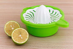 Zitrone Juicer Stockbild