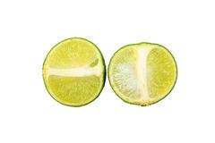 Zitrone, Kalk Lizenzfreies Stockfoto
