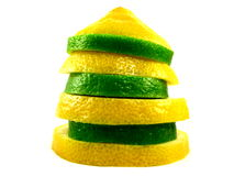 Zitrone-Kalk Stockfotografie