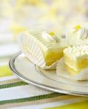 Zitrone-Kuchen lizenzfreies stockfoto