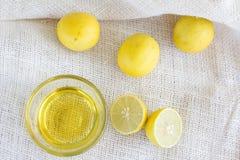 Zitrone lime& Honig Lizenzfreies Stockbild