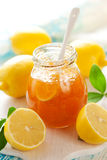 Zitrone-Marmelade Stockfotografie