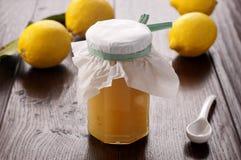 Zitrone-Marmelade Lizenzfreie Stockbilder