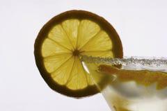 Zitrone Martini lizenzfreie stockfotos