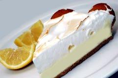 Zitrone-Meringe-Torte Stockbild