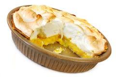 Zitrone-Meringe-Torte Stockbilder