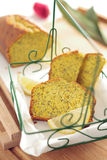 Zitrone-Mohn-Brot Lizenzfreies Stockbild