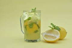 Zitrone Mojito stockfoto