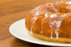 Zitrone-Pound-Kuchen stockfotografie