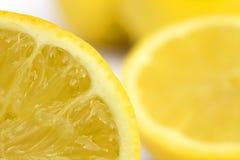 Zitrone-Segment Stockfotos