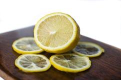 Zitrone slikes Stockbilder