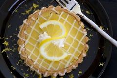 Zitrone-Törtchen Stockfotos