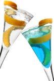 Zitrone-Torsion-Cocktail Lizenzfreies Stockfoto
