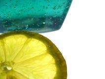 Zitrone und Gelee Lizenzfreies Stockbild