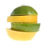 Zitrone und Kalk Lizenzfreies Stockfoto