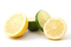 Zitrone- und Zitronefrucht Stockfotografie