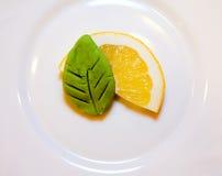 Zitrone Wasabi 1 Lizenzfreies Stockbild