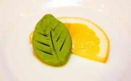 Zitrone Wasabi 2 Stockbild