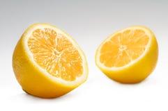 Zitronehälften Stockfotos