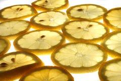 Zitronehintergrund Lizenzfreies Stockfoto