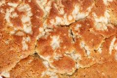 ZitroneMohn-Kuchenhintergrund Lizenzfreies Stockbild