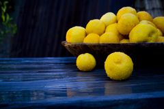Zitronen lizenzfreie stockfotos
