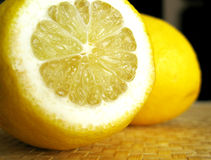 Zitronen stockfoto