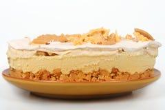 Zitronen-Eis-Kasten-Torte Stockbild
