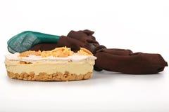 Zitronen-Eis-Kasten-Torte Stockbilder