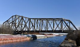 Zitronen-Eisenbahn-Brücke Lizenzfreie Stockfotos